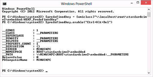 Windows 8 Embedded Lockdown – возможности для встраивания